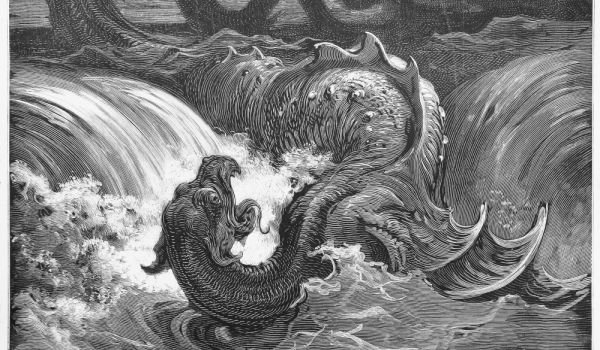 The Mythical Monster Leviathan  The Mythical Mo...