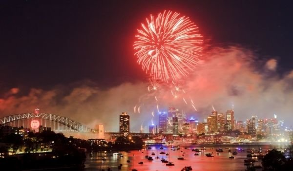 New Year in Sidney